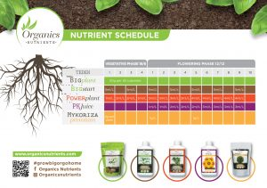 Nutrients schedule