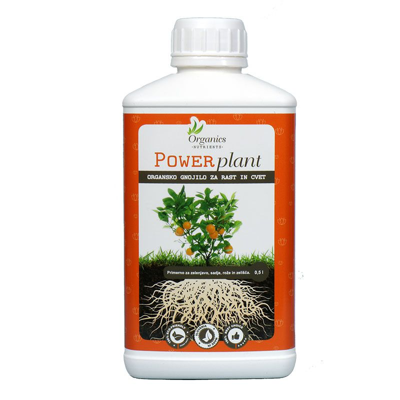 Organic fertilizer for Growth and Bloom Power plant